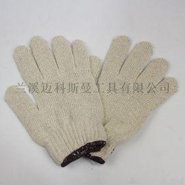 7針電腦機本白棉紗手套
