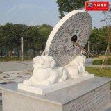 曲陽廠家定製石雕藝術性強結實耐風化雕塑公園景點擺件
