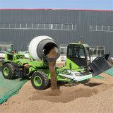 四輪水泥攪拌車 建設用2方自上料攪拌車 長期供應