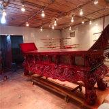 寺廟元寶桌,木雕供桌廠家,香樟木雕刻供桌生產廠家