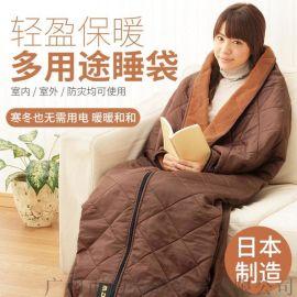 日本自热毯应急保暖野营居家睡袋求生毯