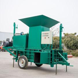 九原区秸秆青储压块机 粉碎玉米秸秆打包机厂家