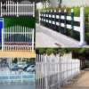 公路塑鋼草坪護欄,花園圍欄規格,小區塑鋼防護欄杆