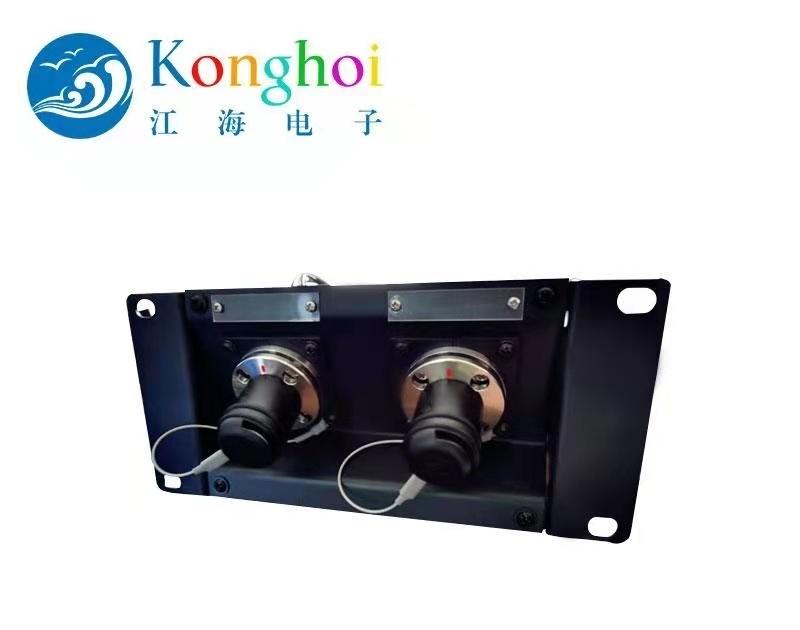 江海多方向接入攝像機複合光纜介面板
