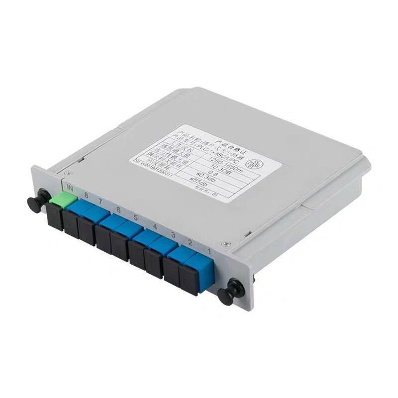 1分16PLC插片式光分路器