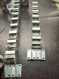 水準鑽機鋼鋁拖鏈_非開挖鑽機油管保護拖鏈