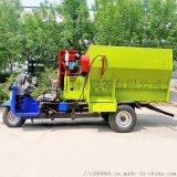 电动三轮撒料车 自走式饲料撒料车 饲料混合撒料车
