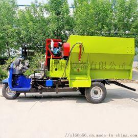 电动三轮撒料车 自走式  撒料车   混合撒料车