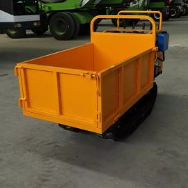 厂家定制 山地爬山虎履带运输车 液压自卸履带运输车