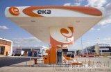 汉思能源加油站柱子铝单板 公交加油站闪银包柱板