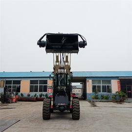 小型多功能铲车 搅拌斗装载机厂家 源头厂家