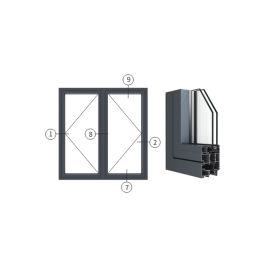 创高IC65|IC65X系列隔热节能外平开窗