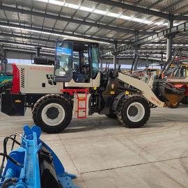 工程装载机 一机多用可配搅拌斗铲斗 农用装载机铲车