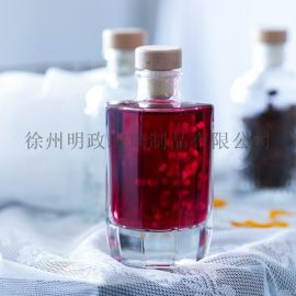 美式酒瓶浮雕酒瓶木塞酒瓶果酒瓶奶茶瓶咖啡瓶果汁瓶