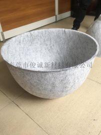 清溪工厂定制毛毡压型加工 羊毛毡热压一体成型