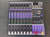 全新聲藝款進口原裝專業8路調音臺帶均衡混響效果