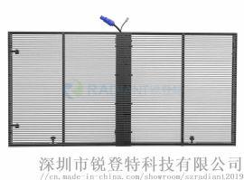 LED玻璃幕墙显示屏,定制型透明屏