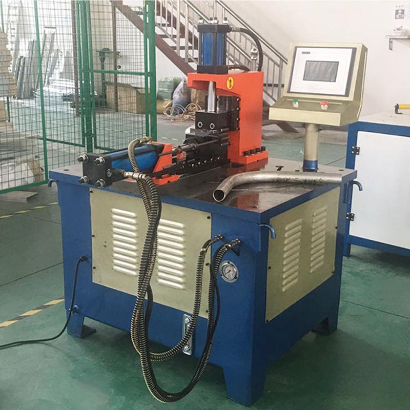 CH40NC液压冲弧机 可冲方管圆管铁管铝管钢管