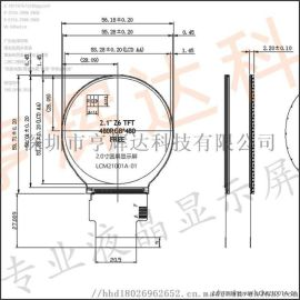 LCM21001A-01-2.1寸圆屏显示屏