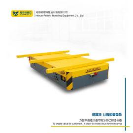 南京无动力无轨平车转弯港口集装箱运输车 升降平板车