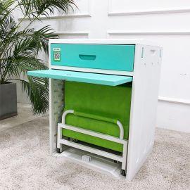 医院床头柜体折叠床蓝牙锁床柜一智能陪护床共享可充电