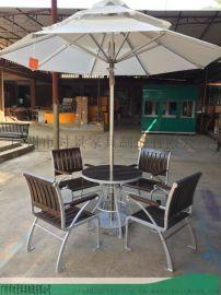 主题餐厅轻奢网红打卡店休闲桌椅--户外时景家具
