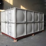 螺栓式冷水箱定製玻璃鋼屋頂方形水箱