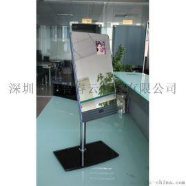 55寸镜面感应广告机浴室防水led智能触摸显示屏