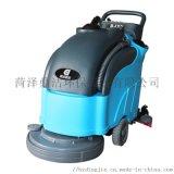 山東洗地機 自動手推式洗地機 濟南手推式洗地機