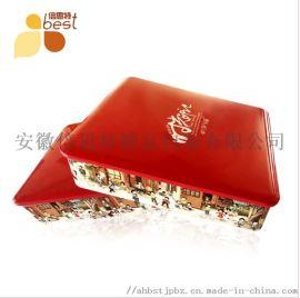 中秋节月饼铁盒生产厂家定制月饼包装盒礼盒马口铁盒