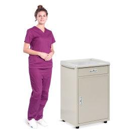 SKS005 塑钢床头柜可定制 医用床头柜