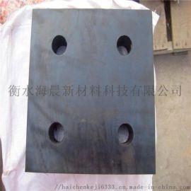 桥梁盆式圆形板式四**板滑动网架带孔抗震建筑橡胶支座