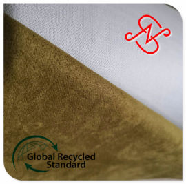 RPET麂皮绒面料,再生麂皮绒面料