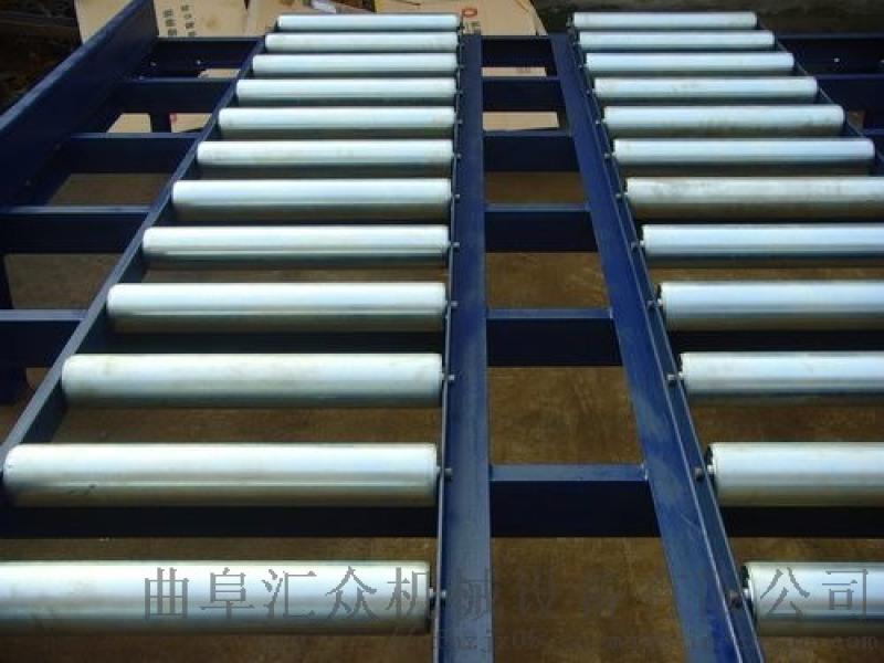 倾斜输送滚筒 生产分拣倾斜输送滚筒 六九重工 输送