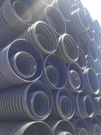 湖南长沙HDPE双壁波纹管@塑料排污管@排水管