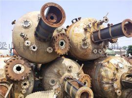 二手10吨不锈钢反应釜回收二手不锈钢反应釜