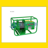 MA型TKK固定式電動捲揚機,可固定於腳手架使用