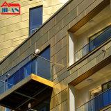 玖安建筑铝镁锰合金大尺寸平锁扣板菱形板