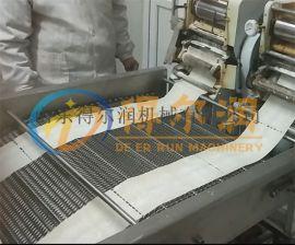 老北京薄脆油炸机 小型薄脆油炸生产线
