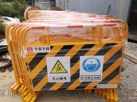 广东省汕尾道路施工安全铁马告示牌厂家