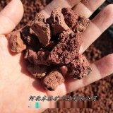 紅色火山石顆粒3-6mm 多肉鋪面魚缸造景火山岩