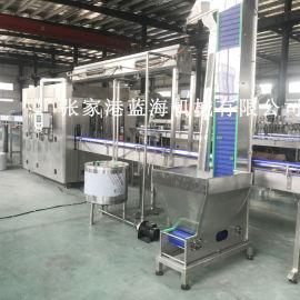 液体灌装机 全自动三合一饮料灌装设备
