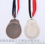 校园运动奖牌,金银铜印字挂牌制作,深圳奖牌来图定制
