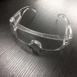 工厂直销现货护目镜防风尘遮挡唾沫飞溅成人劳保镜防护
