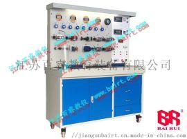 液压泵溢流阀与节流阀特性液压实验台