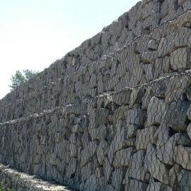防汛抢险专用石笼网 生态护坡铅丝石笼网厂家直销
