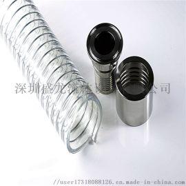 食品级PU钢丝软管/食品级软管/钢丝软管