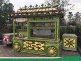 鮑師傅肉鬆小貝泡芙工坊售賣車設計-時景傢俱製造