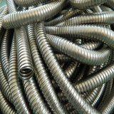 厂家生产内径8mm单扣不锈钢金属软管 电缆护线套管