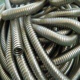 廠家生產內徑8mm單扣不鏽鋼金屬軟管 電纜護線套管